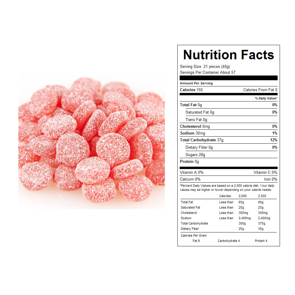 Sour Patch Cherries Bulk Candy (5 lbs)