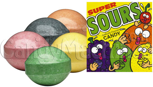 Super Sours Bulk Candy - 800 ct.