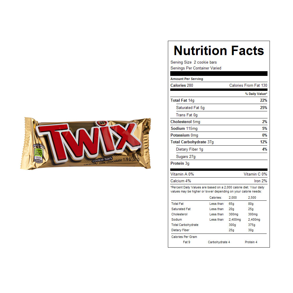Buy Twix Candy Bars 36 Ct Vending Machine Supplies For