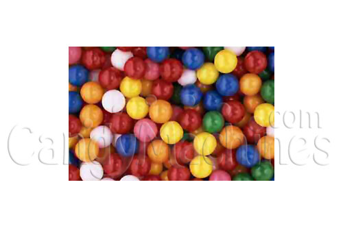 Junior Solid Color Assorted Gumballs By The Pound