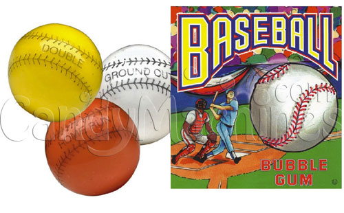 Baseball Vending Gumballs 1080 ct.