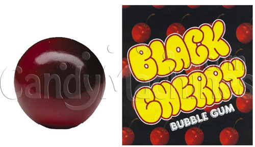 Black Cherry Gourmet Flavored Gumballs - 850 ct.
