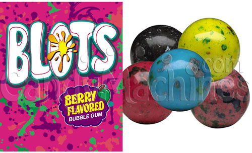 Blots Berry Flavored Bubble Gum - 1430 ct. Gumballs