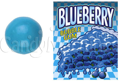 Blueberry Bubble Gum - 1080 ct. Gumballs