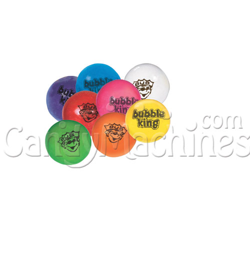 Bubble King Classic Gumballs with Logo - 1080 ct.