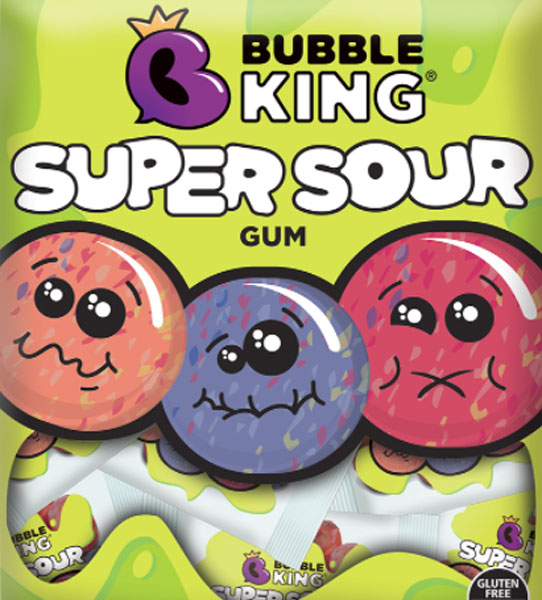 Bubble King Super Sour Gum