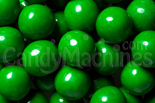 Green Premium Gumballs by the Pound
