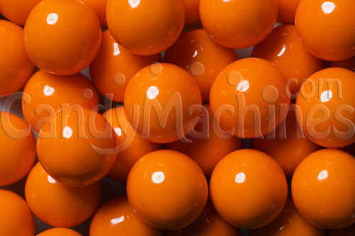 Solid Orange Color Gumballs - 850 Ct.