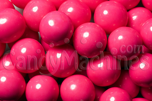 Pink Premium Gumballs by the Pound