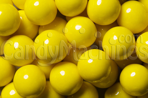 Solid Yellow Color Gumballs - 850 ct.