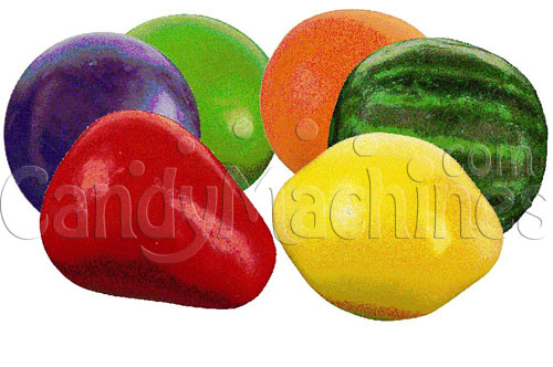 Bulk Vending Colossal Fruit Gumballs