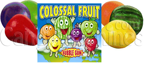 Colossal Fruit Gumballs - 138 ct. Bulk Vending