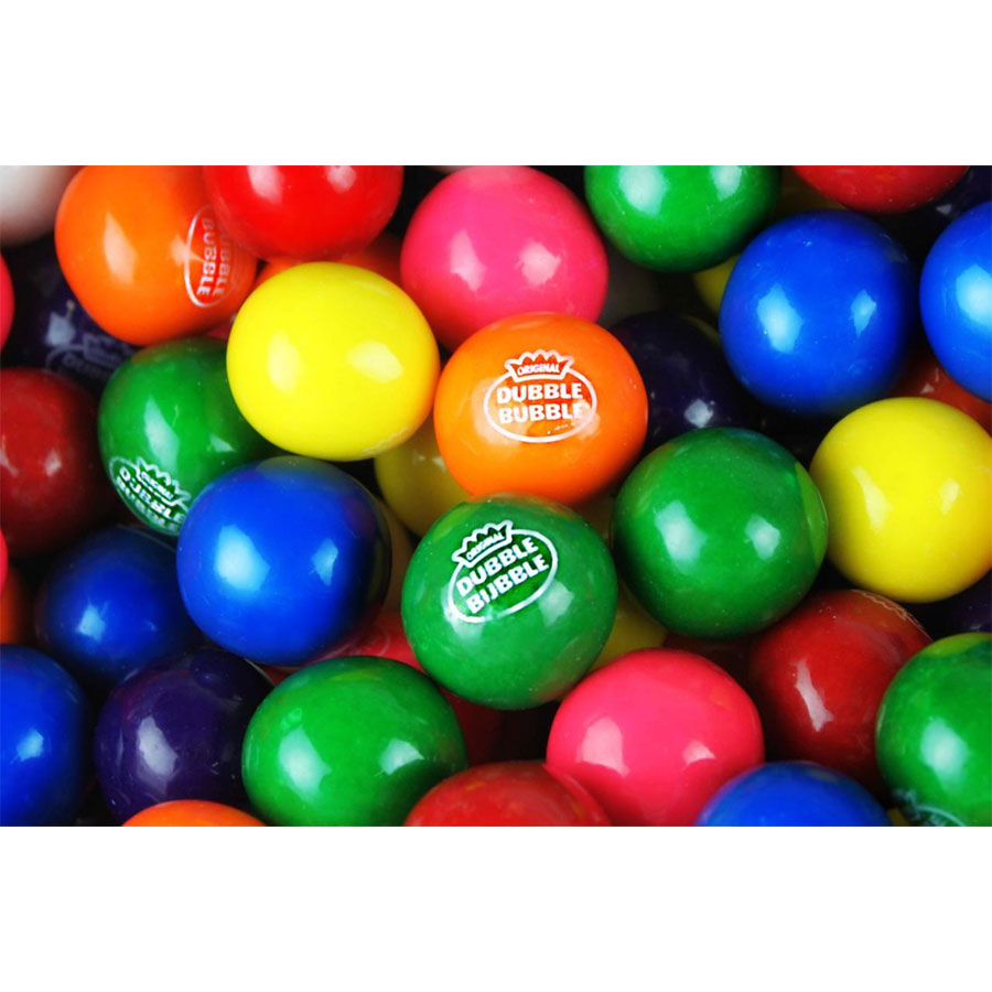 Dubble Bubble Jr. Assorted Junior Gumballs - 5800 ct.