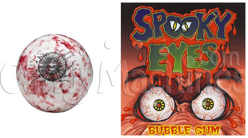 Spooky Eyes Bubble Gum - 850 ct. Eyeball Gumballs