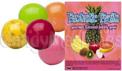 Fancy Fruits Gumballs 1080 ct.
