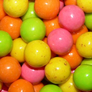 Fancy Fruits Gumballs By The Pound