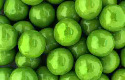 Granny Green Apple Gumballs By The Pound