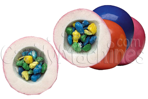 Mouth Full Giant Gumballs (Filled) by the Pound