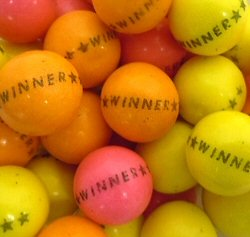 Multi-Colored Winner Gumballs Click Here To Buy!