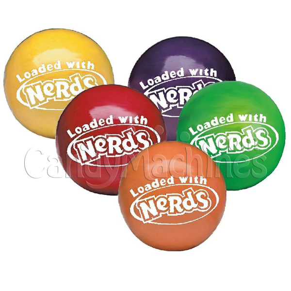 Bulk Vending Nerds Candy Center Gumballs- 850