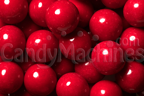 Red Premium Gumballs by the Pound