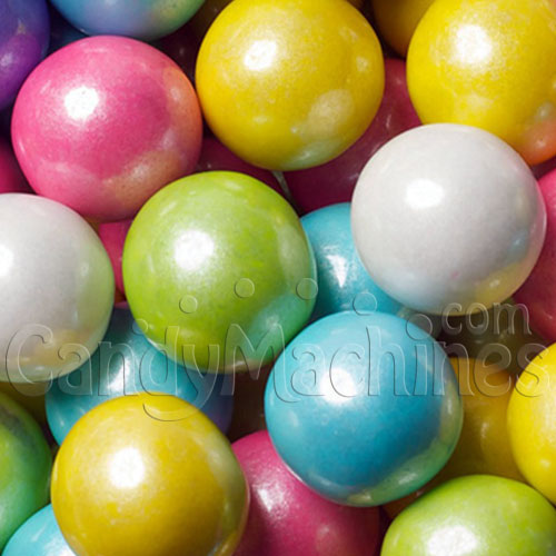 Shimmer Spring Mix Gumballs by the Pound