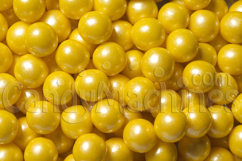 Small™ Shimmer Yellow Gumballs
