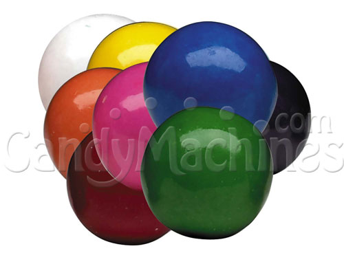 Bulk Vending Bubble King Assorted Solid Color Gumballs - 1430 ct.