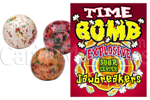 Time Bomb Multi-Colored Jawbreakers - 850 ct.