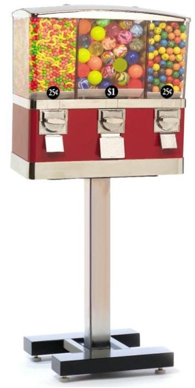 3-Head Select Vending Machine