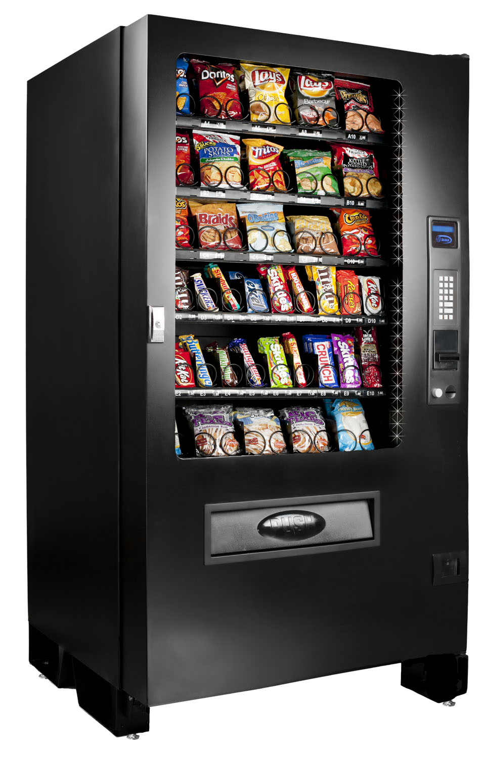 Buy Seaga Infinity INF5S Snack Vending Machine - Vending ...