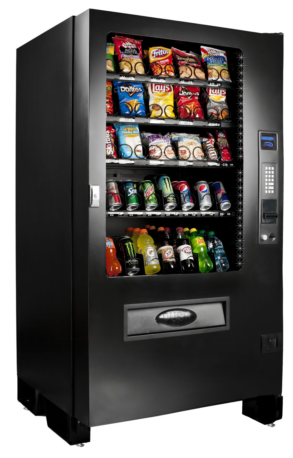 Seaga Infinity Snack and Soda Combo Machine - Infinity INF5C