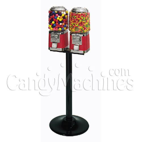 Barrel Double Vending Machine T Stand
