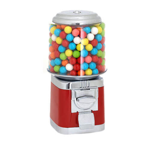 Red Gumball Machines