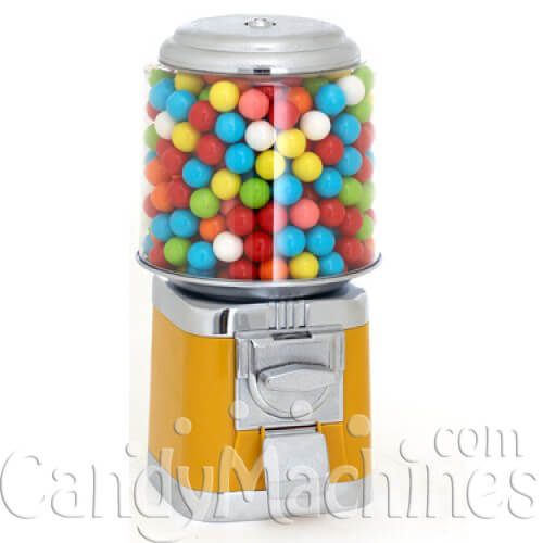 Yellow Gumball Machines