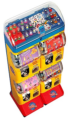 Tomy Gacha Toy Capsule Machine Top
