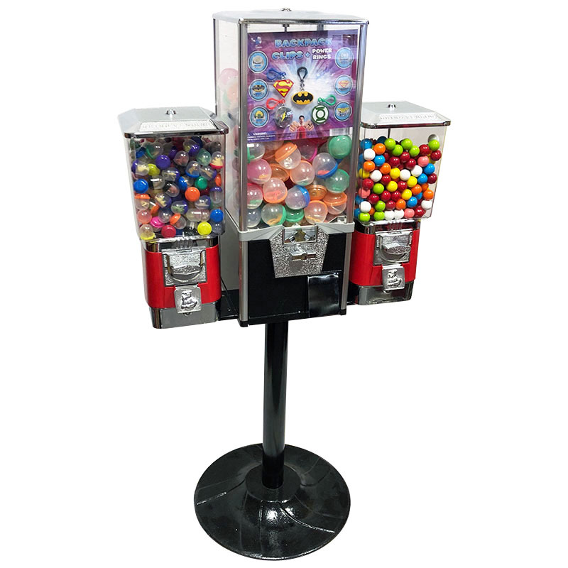 Triple Combo Vending Machine with Stand