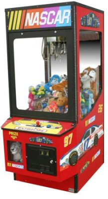 NASCAR Crane Toy and Candy Vending Machine