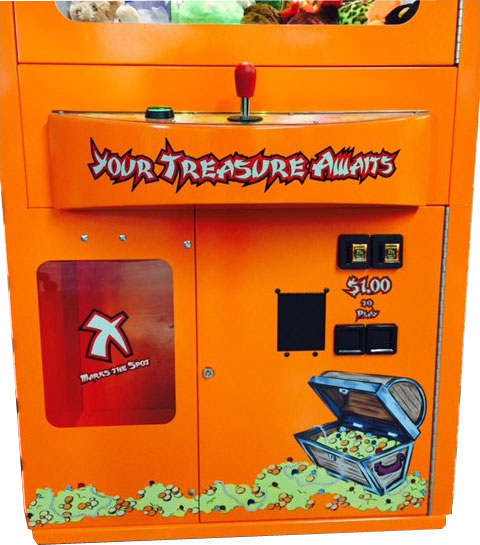 Treasure Cove Pirate Crane Vending Machine