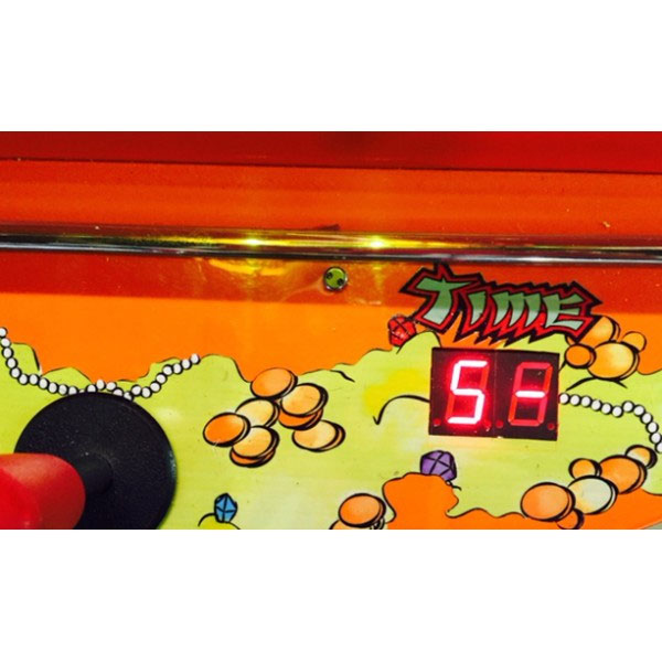 Treasure Cove Pirate Crane Vending Machine Timer Display