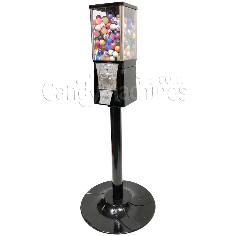 Eagle Metal Bouncy Balls Bulk Vending Machine with Stand Right Side