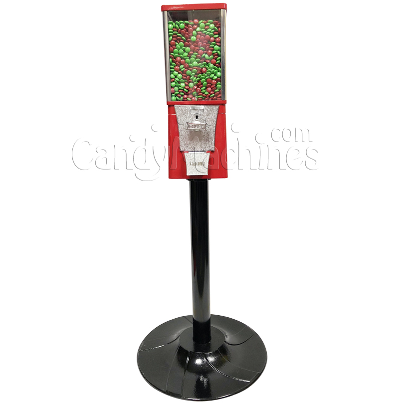 Eagle Metal Candy Bulk Vending Machine with Stand