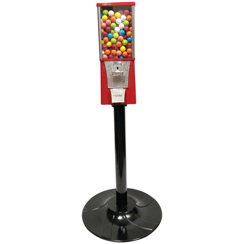 Eagle Metal Gumball Bulk Vending Machine with Stand