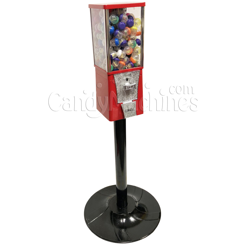 Eagle Metal Toy Capsule Bulk Vending Machine with Stand Left Side