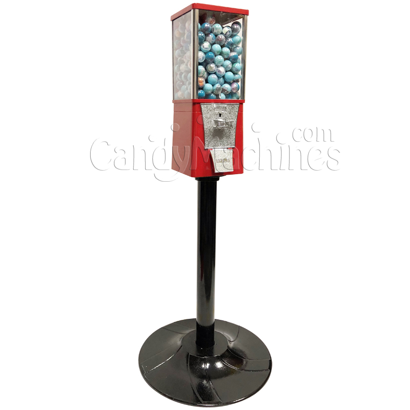 Eagle Metal Toy Round Capsule Bulk Vending Machine with Stand Left Side