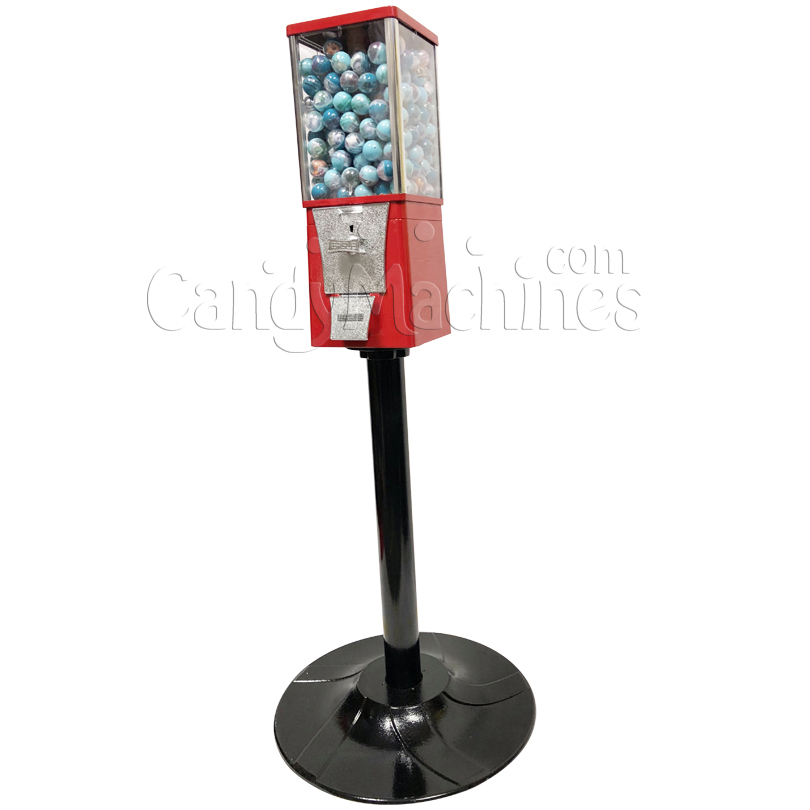 Eagle Metal Toy Round Capsule Bulk Vending Machine with Stand Right Side
