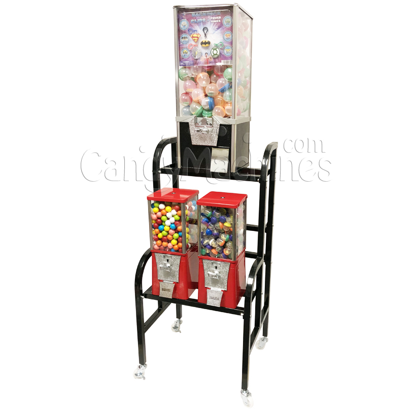 Eagle Toy and Bulk Vending Rack - 18 Inch Rack Right
