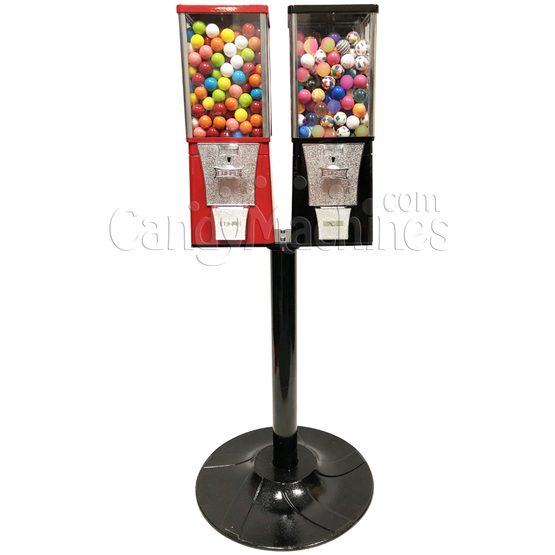 Eagle Two Head Bouncy Balls Bulk Vending Machine with Stand