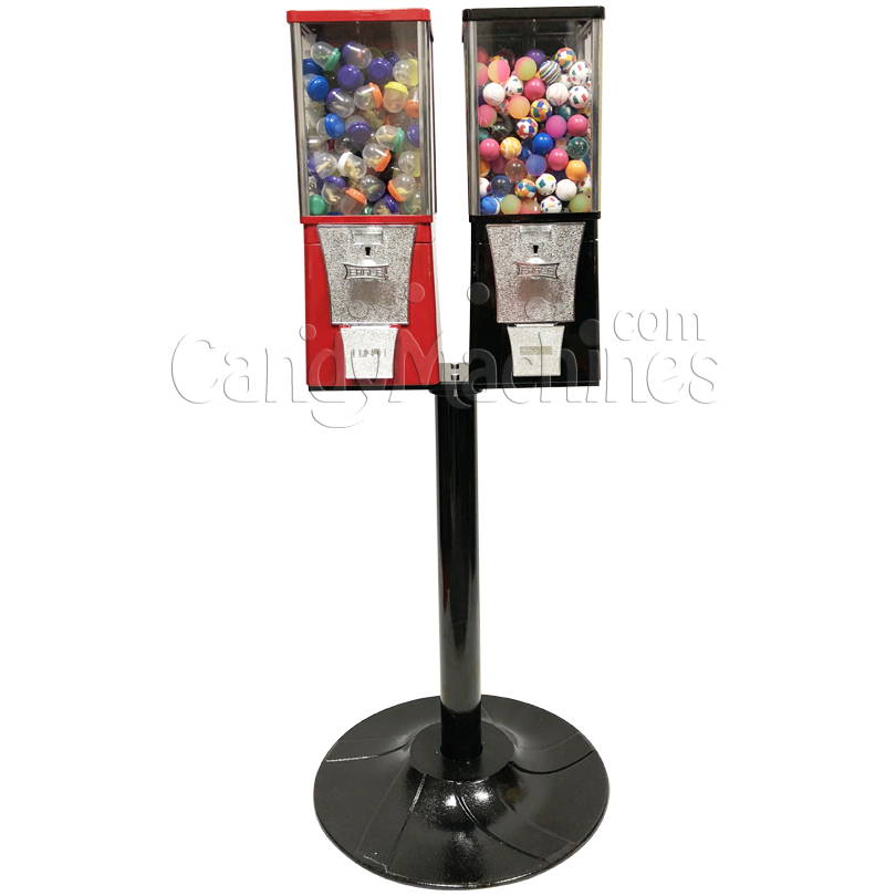 Eagle Two Head Toy Capsule Bulk Vending Machine with Stand