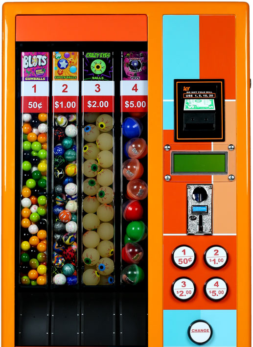Electronic Wizard Gumball and Toy Vending Machine